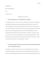 introduction for gun control essay my essay on gun control for my english class karen alyse