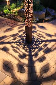 pattern lighting. aspen obelisk 6x6 series shadows with 7 watt cree altled mr16 2800k shadow patterns pattern lighting i