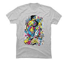 Doodle Shirt Design Amazon Com Seasons Doodle Mens Graphic T Shirt Design By