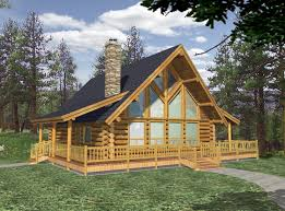 log cabin home plans designs house with open floor plan modern small