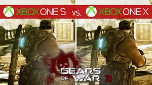 Video Gears Gears Of War 3 On Xbox One X Is Sharper Than A Lancer Sawblade