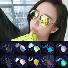 Top Designer Sunglasses 2017 2017 Top Quality Glass Lens Designer Brand Sunglasses Women Men Vintage Aviation Sunglasses Feminin New Shades Aviator Mirror In Sunglasses From