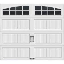 garage door spring home depotWhite  Single Door  Windows  Garage Doors  Garage Doors