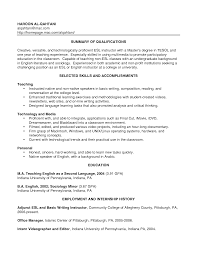 Ideas Of English Teacher Resume Sample Sample Resume Account