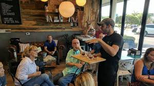Black crow coffee shop is a true hidden gem, located in historic old northeast surrounded by houses and brick roads. St Pete Coffee Tours Offer A Glimpse Into The World Of Local Craft Coffee