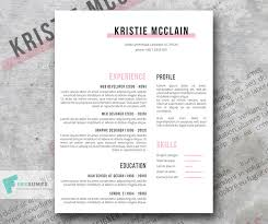 Clean Resume Template Best Elegant Resume Template Freebie Crisp And Clean Freesumes