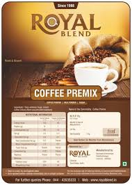 Coffee Vending Machine Premix Powder Classy COFFEE PREMIX POWDER Royal Blend