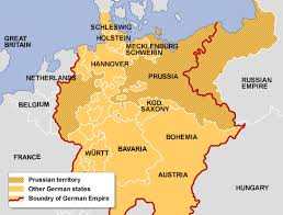 bbc higher bitesize history bismarck and unification revision german states 1815