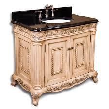 Antique Bathroom Cabinets Bathroom Vanities 36 Thornwood Vanity For Undermount Sink