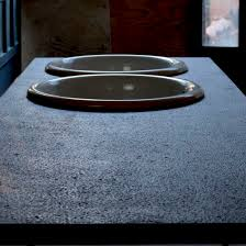 lava stone countertop kitchen stain proof black basaltic b08