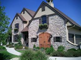 exteriorsfrench country exterior appealing. Rock Veneer, Shake Siding, Window Boxes And Board Batten Shutters Add Up To An Appealing French Country Cottage. Exteriorsfrench Exterior