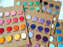 Fondant Colors Chart