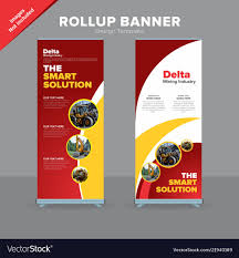 Free Creative Design Templates Creative Rollup Banner Design Template