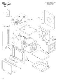 Rbs245pdq12 electric oven oven literature parts diagram