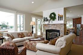 modern living room with brick fireplace. Living Room Ideas With Brick Fireplace And Tv Room: Cozy Dining Modern