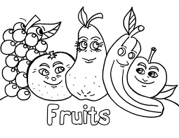 Needhi gandhi on september 25, 2019. Fruits Coloring Pages For Kids To Print Coloring And Drawing