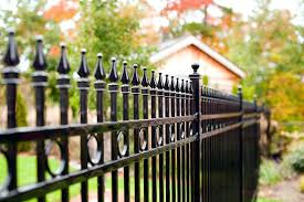 painting wrought iron railing how to clean and maintain a wrought iron fence