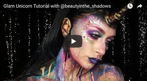 glam unicorn makeup tutorial mehron inc