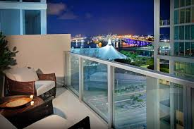 Amazing Apartment Balcony Cover With Glass Panel