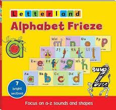 Letterland Chart Alphabet Frieze Letterland Wall Chart