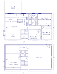 9 side split house plans small modern level plan1261088mainimage 2 tudor bi home plan intere house