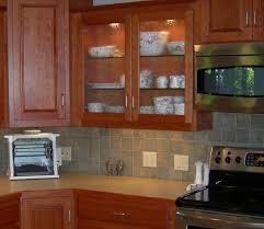 glass shelf kitchen cabinet