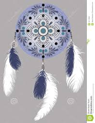 What Is A Dream Catchers Purpose Dream catcher stock vector Illustration of drawing blue 100 45