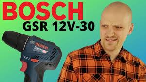 <b>BOSCH GSR 12V</b>-30 BRUSHLESS - <b>инструмент</b> с налётом ...