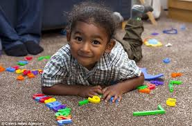 youngest mensa member adam kirby aged two has an iq of 141