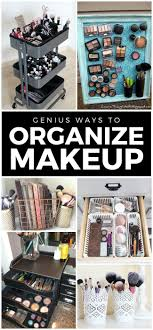 makeup vanity organization ideas. 11 Genius Makeup Storage Ideas For Hacks Diy Vanity And Organization