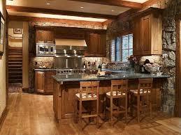 country farmhouse kitchen designs. Kitchen, Country Farmhouse Kitchen Designs Charming Glazed White Floor Tiles Dark Brown Countertop Antique Bar