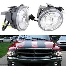 2012 Dodge Durango Fog Light Bulb Replacement Pair Of Fog Lights Lamps 1 1 Replacement For Dodge Dakota
