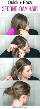 Second Day Curly Hairstyles 25 Best Ideas About Lazy Day Hairstyles On Pinterest Lazy Hair