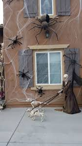 Outdoor Halloween Props Best 25 Halloween Spider Decorations Ideas On Pinterest