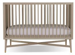 finley convertible crib  french grey  leon's