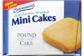 Entenmanns Pound Cake Mini Cakes 6 Ct Entenmanns72030019680