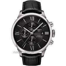 "tissot watches men s ladies tissot watch shop comâ""¢ mens tissot chemin des tourelles automatic chronograph watch t0994271605800"