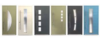 designer aluminium front doors banner modern contemporary style