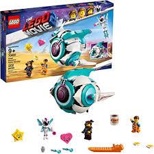 LEGO THE <b>LEGO MOVIE</b> 2 Sweet Mayhem's Systar Starship! <b>70830</b> ...