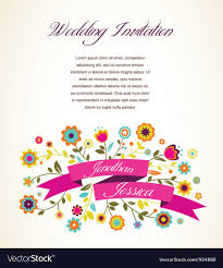 card invitation greeting card invitation royalty free vector image