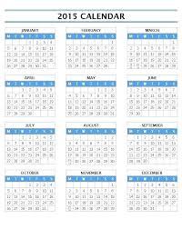 2015 Calendar Template Excel Onedaystartsnow Co