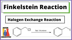 Finkelstein Reaction Role of Acetone as ...