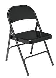 black metal folding chairs. Dining Room Furniture:Metal Folding Chairs Homebase Habitat In Black Metal O