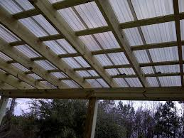 image of patio polycarbonate roof panels