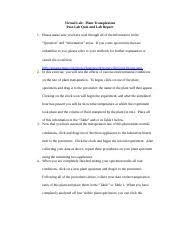 4 pages planttranspiration lab