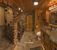 Cabin Bathroom Golden Eagle Log Homes Log Home Cabin Pictures Photos Ponderosa
