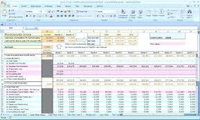 Sample Cash Flow Projections Excel Full Size Of Spreadsheet