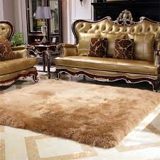 how to clean a wool rug brown