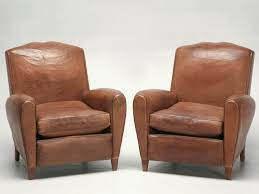 leather club chairs for sale. Beautiful For Pair French Leather Club Chairs Circa 1930s Throughout Chairs For Sale R