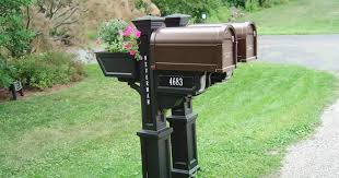Decorative Mail Boxes Decorative Mailbox Mail Posts Installation 57